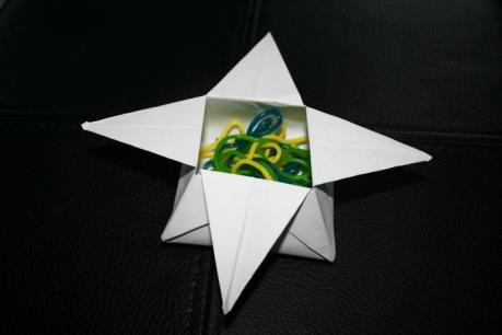 Petite Boite étoile En Origami Activité Manuelle Et Bricolage Pour