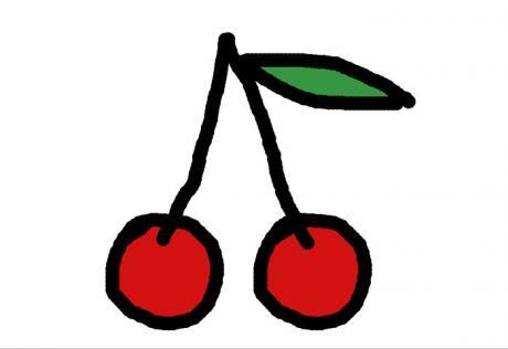 J 39 apprend dessiner une cerise activit manuelle et - Dessin de cerise ...