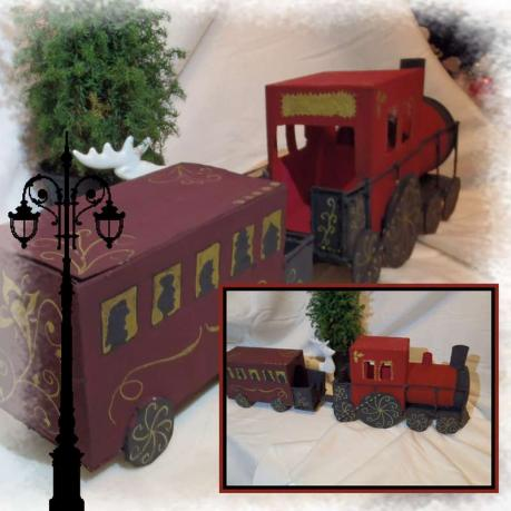 train de noel activit manuelle et bricolage pour enfant. Black Bedroom Furniture Sets. Home Design Ideas