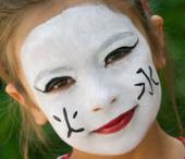 Maquillage de petite chinoise  Etape par etape .