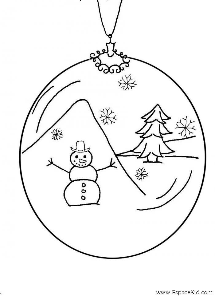 Dessin boule new calendar template site - Boules de noel images gratuites ...
