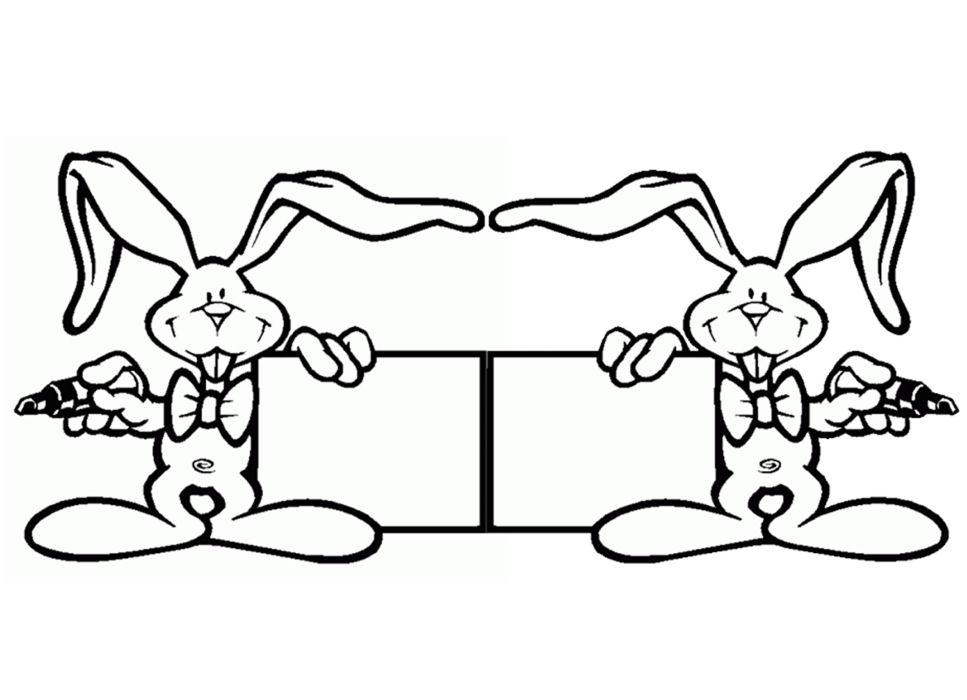 Carte lapin de p ques activit manuelle et bricolage - Modele de paques a imprimer ...